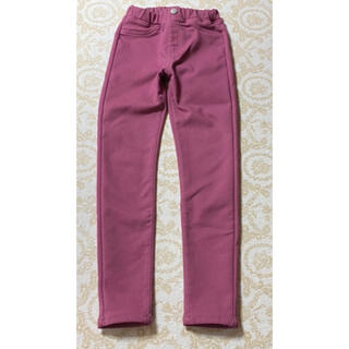 GU - gu 暖パン 女の子  ピンク 130 ズボン パンツ