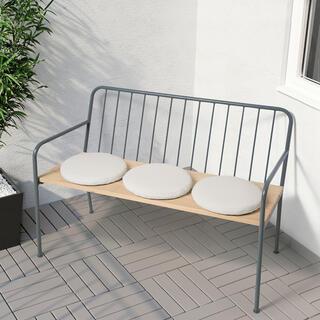 IKEA - IKEA  PRÄSTHOLM プレストホルム ベンチ 背もたれ付き ベンチ