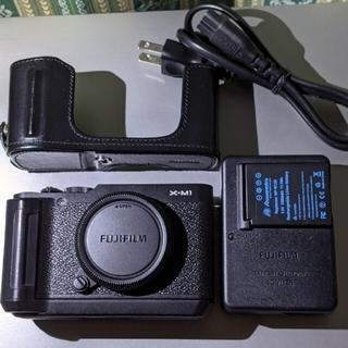 富士フイルム - 美品 FUJIFILM X-M1 基本動作確認済 富士フイルム