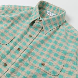 アンユーズド(UNUSED)のUNUSED 20AW コーデュロイチェックシャツ(シャツ)