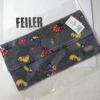 FEILER - 【新品】フェイラー ハイジ グレー ティッシュボックスカバー