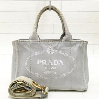 プラダ(PRADA)の☆美品・白タグ付☆プラダ PRADA カナパ S 2way トートバッグ(その他)