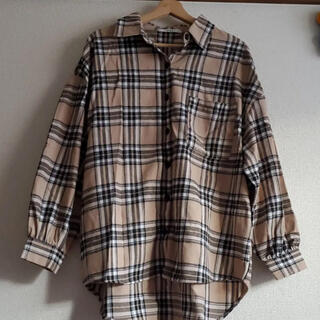 GRL - GRL オーバーチェックシャツ