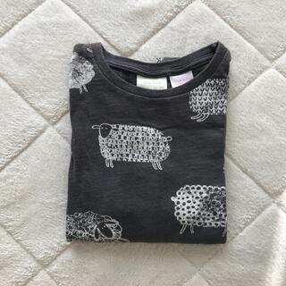 ザラキッズ(ZARA KIDS)の羊柄 ザラキッズ Zara Baby  ザラベビー 90 ロンT(Tシャツ/カットソー)