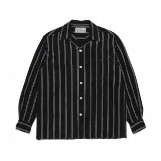WACKO MARIA - ワコマリア ストライプオープンカラーシャツ XL