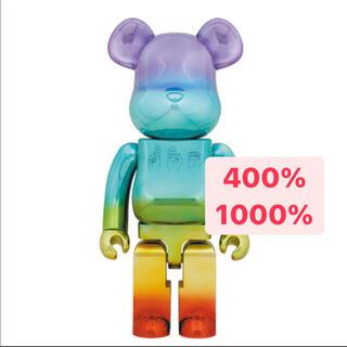 MEDICOM TOY - BE@RBRICK U.F.O. 1000% 400%