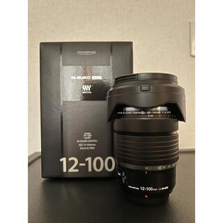 OLYMPUS - OLYMPUS  交換レンズ M ED12-100F4.0 IS PRO