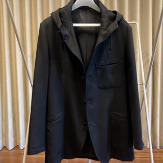Yohji Yamamoto - ヨウジヤマモト アーミーギャバ フード付ジャケット