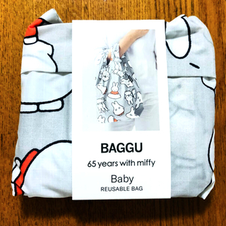 ミッフィー  65周年 BAGGU エコバッグ おばけ BABY