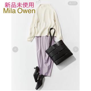 Mila Owen - 新品未使用☆ミラオーウェン  ニット☆イエナドゥーズィエムクラスお好きな方も