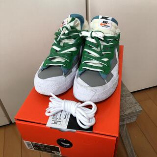 sacai - NIKE×sacai ブレーザーLOW classic green 25cm