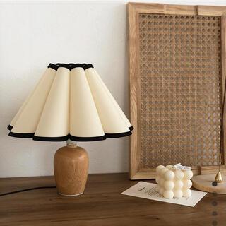 IKEA - ランプシェード フラワー 韓国 インテリア テーブルランプ フロアスタンド