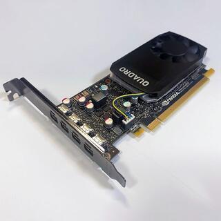 正常品 Quadro P600 2GB GDDR5 Mini-DPx4 株式FX