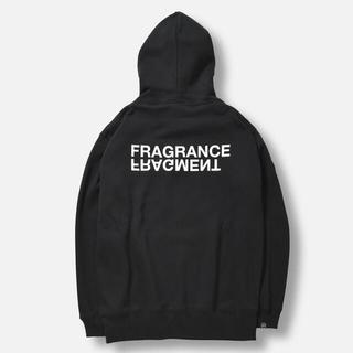 FRAGMENT - retaw FRAGMENT FRAGRANCE フーディ 黒 L