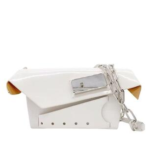 Maison Martin Margiela - 【大人気】メゾンマルジェラ スナッチド スモールバッグ 2WAY ホワイト Q7