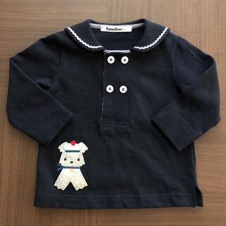 ファミリア familiar セーラーTシャツ 長袖 80