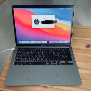 美品 Apple MacBook Air M1 現行モデル スペースグレイ