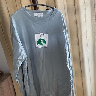 アベイル(Avail)のメンズ 大きいサイズ タイムリーワーニング 長袖Tシャツ ロンT(Tシャツ/カットソー(七分/長袖))