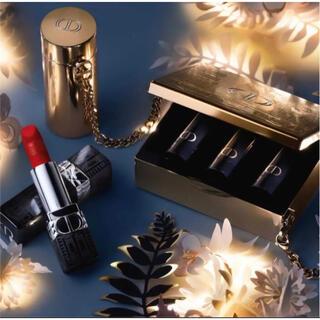 Dior - diorクリスマスコフレ2021 ルージュ ディオール ミノディエール