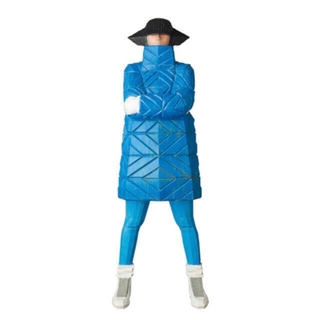 MEDICOM TOY - B-GIRL Down Jacket NAGAME BLUE まぼろしのパレード