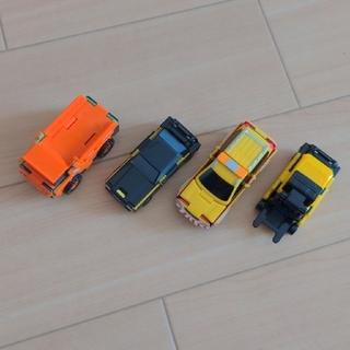 バンダイ(BANDAI)のブーブ 変身する車 ミニカー 4台(ミニカー)