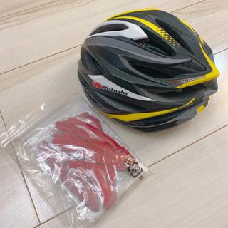 オージーケー(OGK)のヘルメット 自転車 OGK Kabuto STEAIR チームマットイエロー(ヘルメット/シールド)