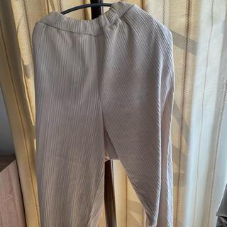 しまむら - しまむら 大きいサイズ シーズンリーズン ズボン リブ 淡色 淡色女子