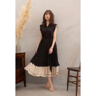 herlipto Two-Tone Midsummer Dress