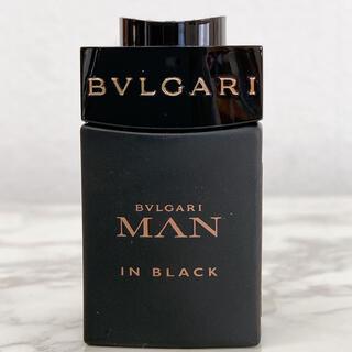 BVLGARI - 美品 BVLGARI  マン MAN イン ブラック オードパルファム 5ml