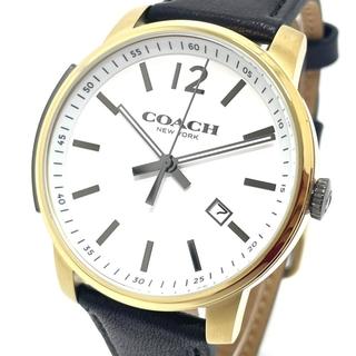 コーチ(COACH)のコーチ CA.100.2.34.1068 クォーツ デイト メンズ腕時計(腕時計(アナログ))