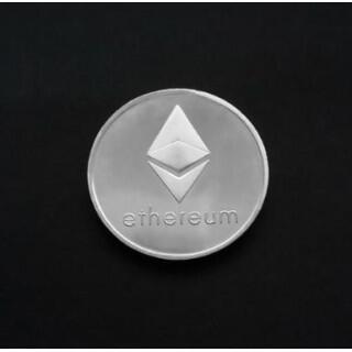 Ethereum コイン シルバー 金運! 仮想通貨 イーサリアム(その他)