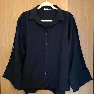 ローズバッド(ROSE BUD)のrosebud*袖透け刺繍ブラウス(シャツ/ブラウス(長袖/七分))