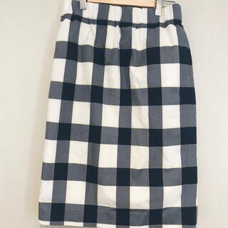 ミラオーウェン(Mila Owen)のCurly Sue様専用 Mila Owenミラオーウェンチェックタイトスカート(ひざ丈スカート)