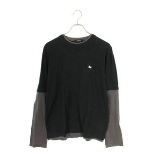 バーバリーブラックレーベル(BURBERRY BLACK LABEL)のバーバリーブラックレーベル バックロゴプリント長袖カットソー 3(Tシャツ/カットソー(七分/長袖))