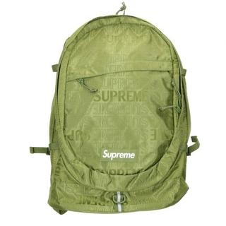 シュプリーム(Supreme)のシュプリーム 19SS Backpack ボックスロゴナイロンバックパック(リュック/バックパック)
