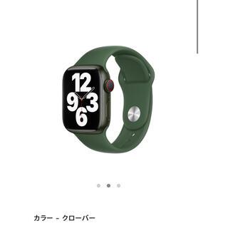 Apple Watch - Apple Watch スポーツバンド 41mm カラー:クローバー