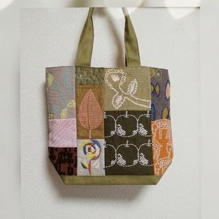 ミナペルホネン(mina perhonen)の⭐ミナペルホネン あざと可愛い?ぴ~すばっぐ ほぼほぼ刺繍✴️ 送料込み❕(トートバッグ)