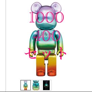 MEDICOM TOY - BE@RBRICK U.F.O. 400% 1000% セット