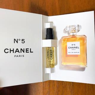 CHANEL - ☆新品未使用☆ CHANEL シャネル ナンバーファイブ 香水 サンプル