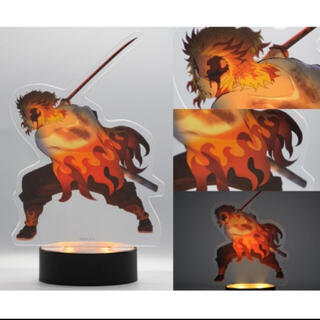 集英社 - 鬼滅の刃 無限列車編 限定特典 煉獄杏寿郎 光る 心を燃やせアクリルスタンド