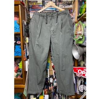 ビームス(BEAMS)のssz beams 21ss stray pants s 緑 セージ(その他)
