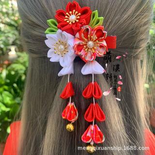 セール 新品 髪飾り 七五三 お祝い 結婚式 袴 前撮り お祝い 卒園式 赤