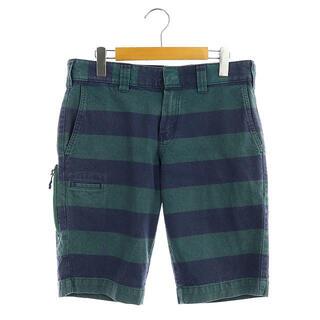 ビームスゴルフ BEAMS GOLF DICKIES パンツ 28 紺 緑