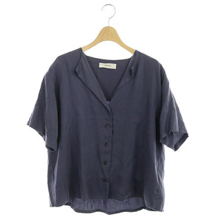 TODAYFUL - トゥデイフル 19SS オープンカラー カラーレスラフシャツ 半袖 特殊染色 F