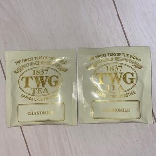 DEAN & DELUCA - TWG カモミール シンガポール高級紅茶 コットン袋 ☆最安値☆