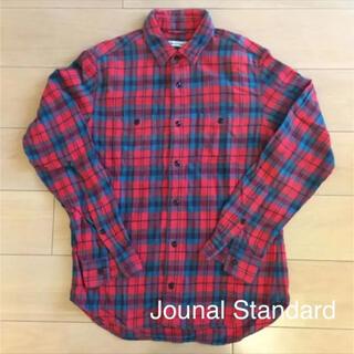 ジャーナルスタンダード(JOURNAL STANDARD)の★Jounal Standard チェックシャツ ネルシャツ(MEN'S)(シャツ)