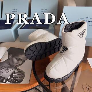 PRADA - 2021新品 PRADA レディース プラダ  スノーシュー