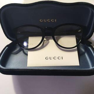 Gucci - 【超美品】グッチ GUCCI サングラス メガネフレーム 眼鏡 黒
