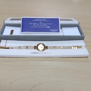 MIKIMOTO - ミキモト  あこや真珠 腕時計  100周年記念製品  JALコラボ  新品