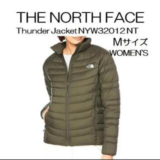 ザノースフェイス(THE NORTH FACE)のノースフェイス サンダージャケット ニュートープ Mサイズ(ダウンジャケット)